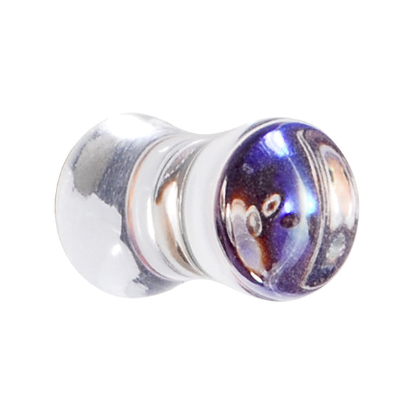 2 Gauge Acrylic Seaside Shell Saddle Plug