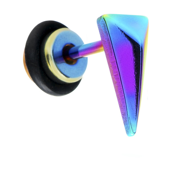 Rainbow Titanium Triangle Cheater Plug