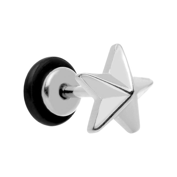 Stainless Steel Star Cheater Plug