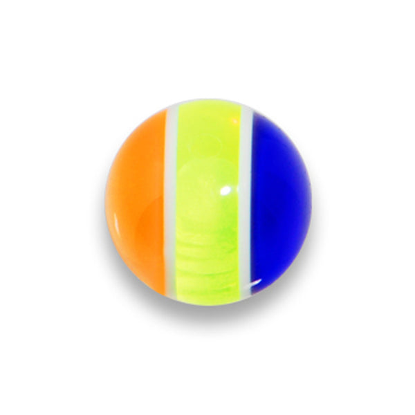 5mm Radical Orange Blue Jawbreaker Replacement Ball