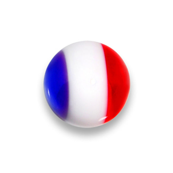 5mm Patriotic Red White Blue Jawbreaker Replacement Ball