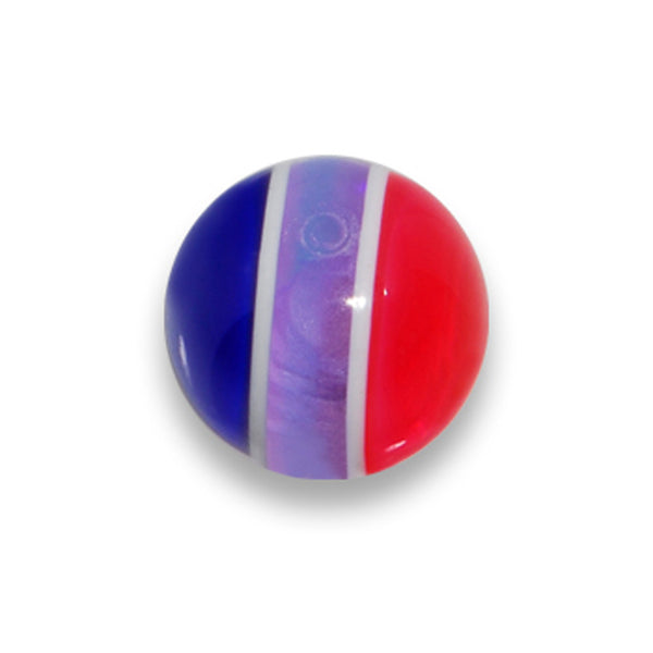 5mm. Brilliant Blue Pink Jawbreaker Replacement Ball