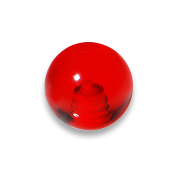 5mm Red Acrylic Replacement Ball