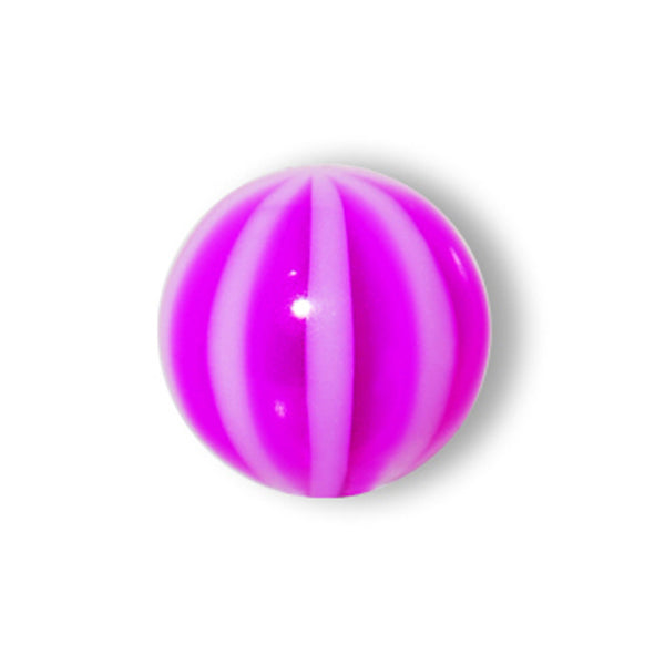 5mm Violet Striped Beach Ball Replacement Ball