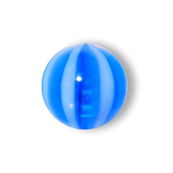 5mm Cabana Blue Striped Beach Ball Replacement Ball