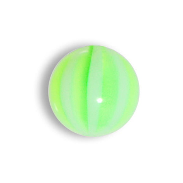 5mm Sublime Green Striped Beach Ball Replacement Ball