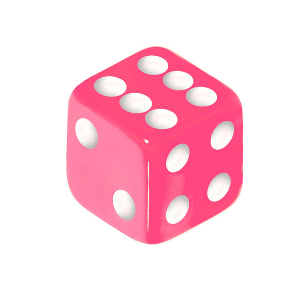 5mm Perfect Pink Dice Replacement Ball