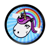 "1/2"" Acrylic Single Flare Unicorn Plug"