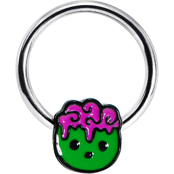 Green Zombie Boy Captive Ring