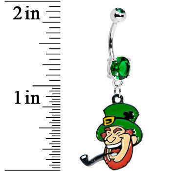 Irish Leprechaun Belly Ring