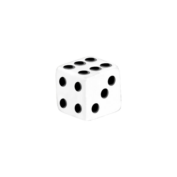 5mm White Black Dice Replacement Ball