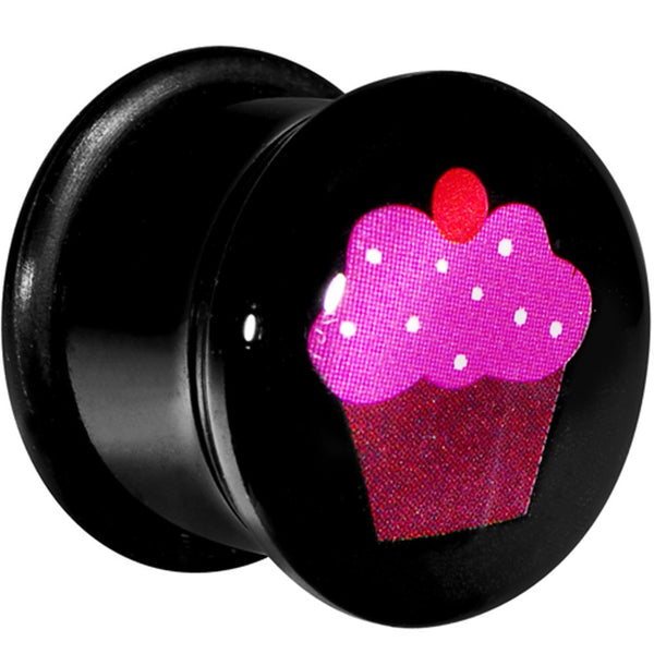 "9/16"" Acrylic Single Flare Cherry Cupcake Plug"