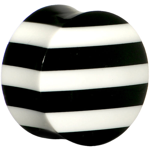 7/8 Striped Resin Bone Saddle Plug