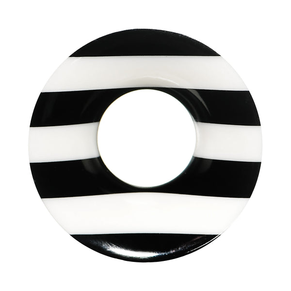 7/8 Striped Resin Bone Ear Tunnel