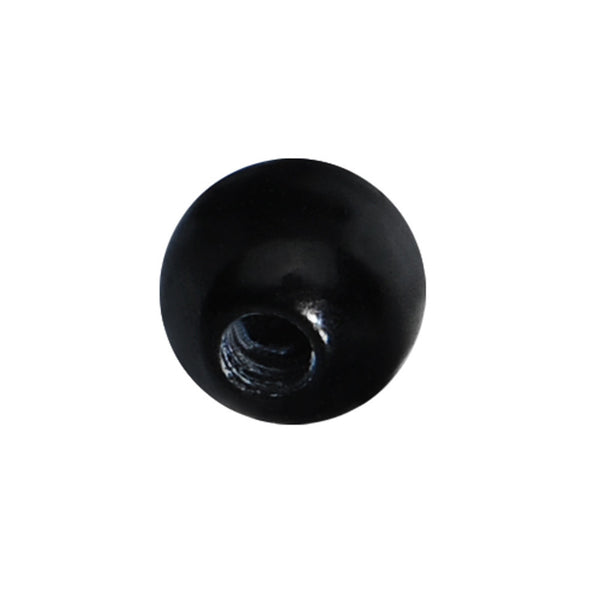 3mm Black Beauty Acrylic Replacement Ball