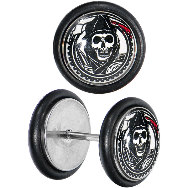 Sons of Anarchy Gunsickle Grim Reaper Cheater Plug Set