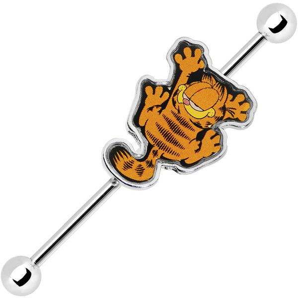 38mm Sliding Garfield the Cat Industrial Barbell