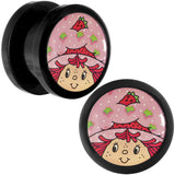 "1/2"" Strawberry Shortcake Acrylic Plug Set"