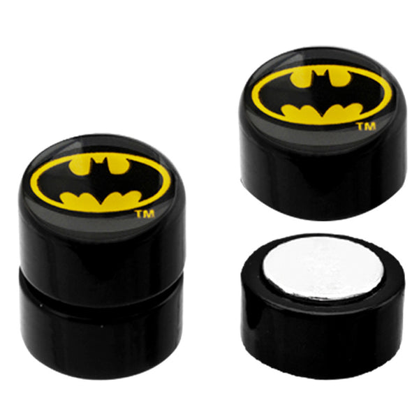 Batman Magnetic Plug Earrings Set