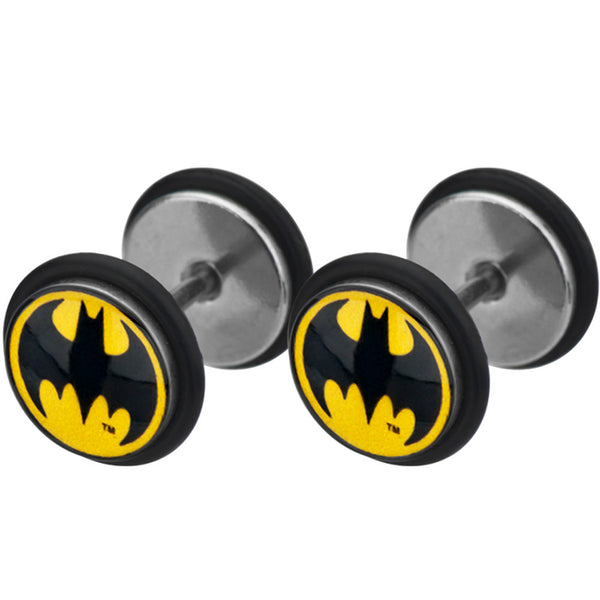 Stainless Steel Batman Cheater Plug Set