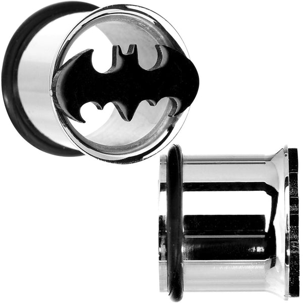 "1/2"" Stainless Steel Batman Tunnel Plug Set"