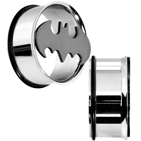 "1""  Stainless Steel Batman Tunnel Plug Set"