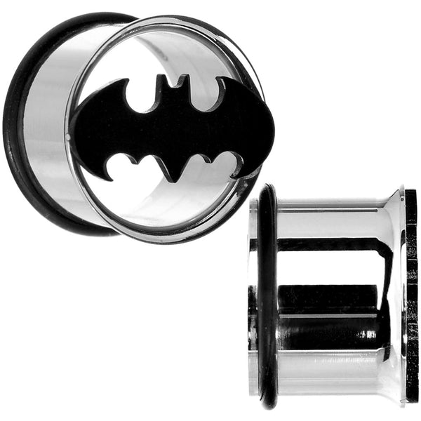 "5/8"" Stainless Steel Batman Tunnel Plug Set"