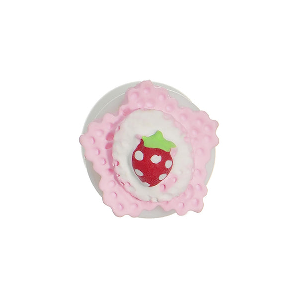 0 Gauge Strawberry Saddle Plug