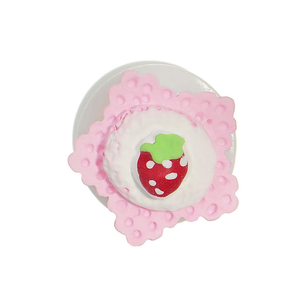 00 Gauge Strawberry Saddle Plug