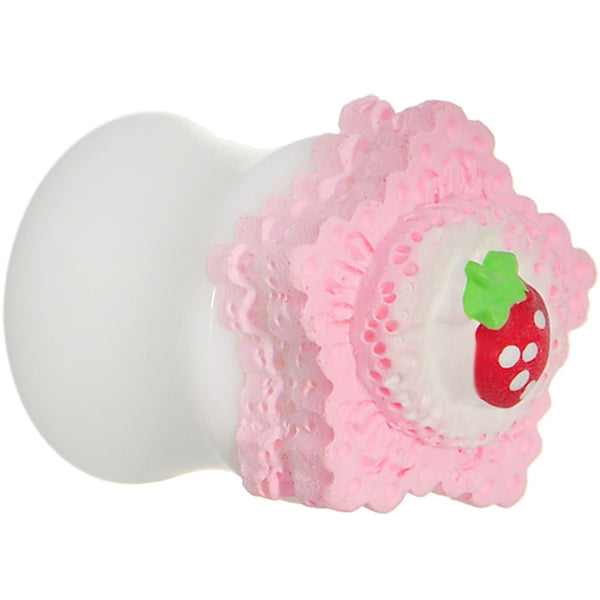 1/2 Strawberry Saddle Plug