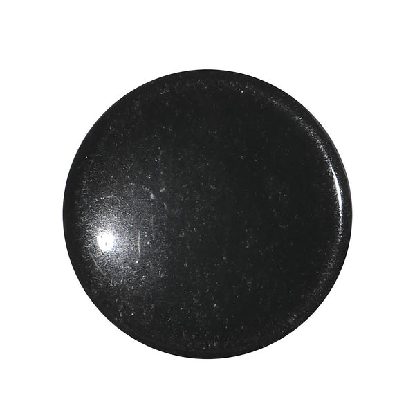 5/8 Black Obsidian Natural Stone Concave Plug
