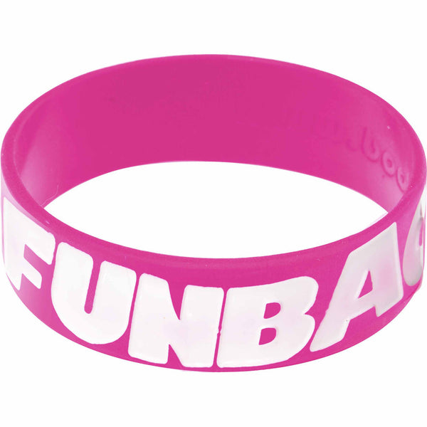 Pink White Funbags Awareness for Breast Cancer Bracelet