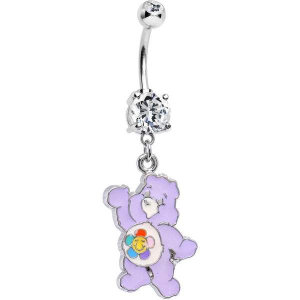 CARE BEARS Harmony Bear Belly Ring Officially Licensed