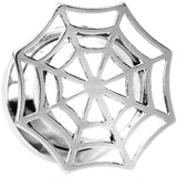"9/16"" Stainless Steel Top Spider Web Tunnel Screw Fit Plug"