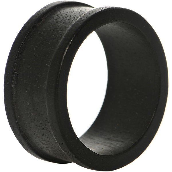 41mm Organic Black Wood Double Flare Tunnel