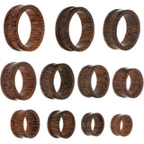 30mm Organic Coconut Wood Double Flare Tunnel
