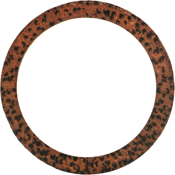 50mm Organic Coconut Wood Double Flare Tunnel