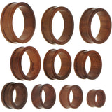 44mm Organic Sono Wood Double Flare Tunnel