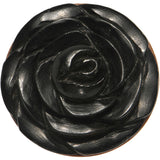 3/4 Organic Rose Iron Wood Flower Plug