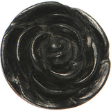 6 Gauge Organic Rose Iron Wood Flower Plug