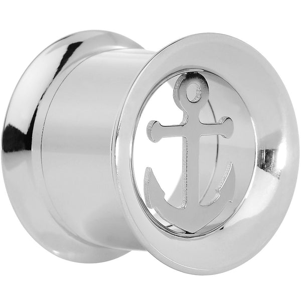 9/16'' Steel Nautical Anchor Tunnel Plug