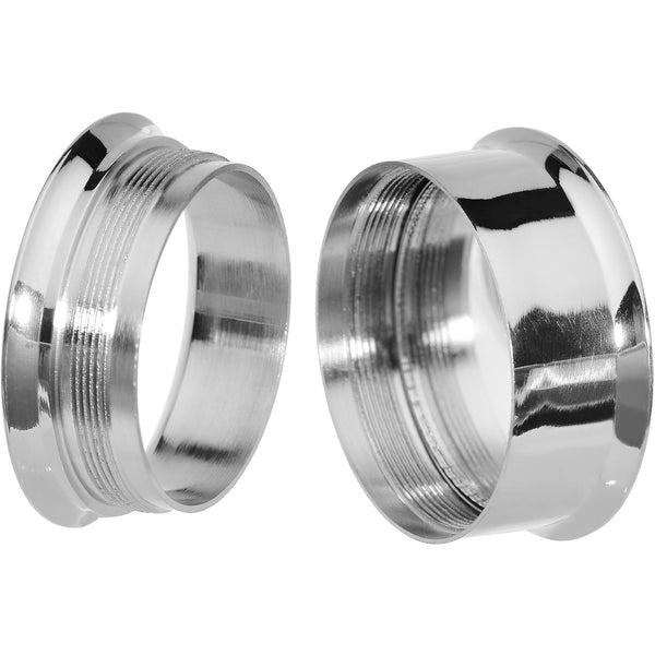 7/8' Steel Hot Lips Reversible Mirror Screw Fit Plug