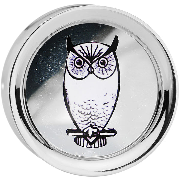 7/8' Wise Owl Reversible Mirror Screw Fit Plug