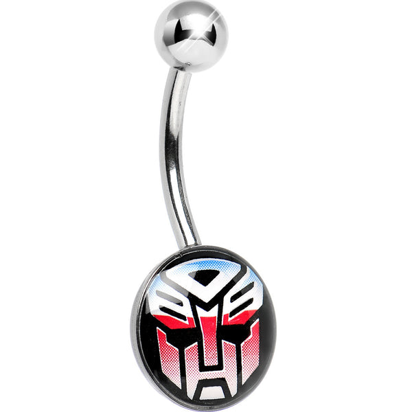 Licensed Autobot Transformer Belly Ring