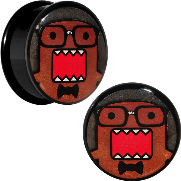 "3/4"" Acrylic Licensed Eyeglasses Domo Plug Set"