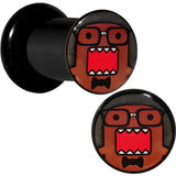 2 Gauge Acrylic Licensed Eyeglasses Domo Plug Set