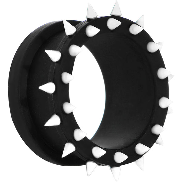24mm Black White Silicone Spiked Flexible Tunnel