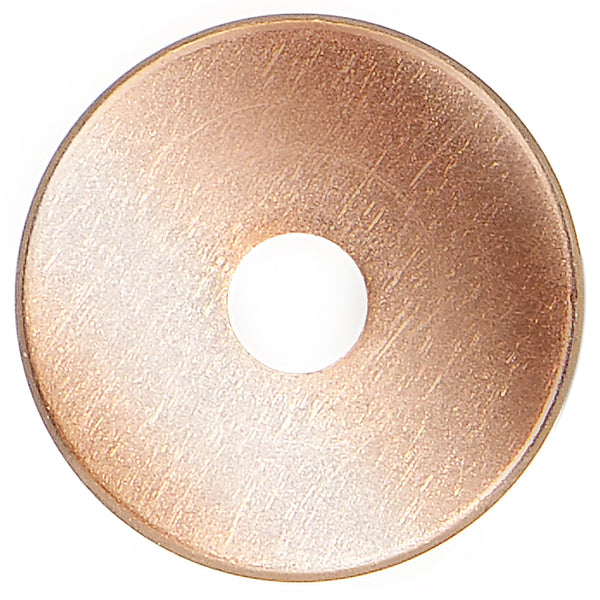 12 Gauge Rose Gold Plated Threaded Tunnel Plug