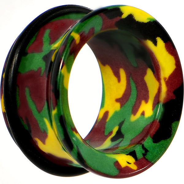 "3/4"" Acrylic Cloaked with Camouflage Tunnel Plug"