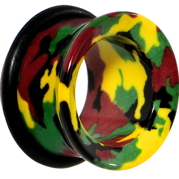 "5/8"" Acrylic Cloaked with Camouflage Tunnel Plug"